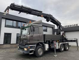 crane truck Mercedes-Benz 3343 AK 6x6 HIAB 550 - 6 + 4 winch remote controll