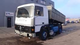 tipper truck > 7.5 t Renault R 340 Major (2 CULASSE / GRAND PONT / SUSPENSION LAMES / POME MANUELLE) 1989