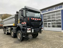 tipper truck > 7.5 t Iveco AD410TW TRAKKER 450 8x8 Euro 6 Muldenkipper TOP! 2017