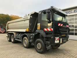 tipper truck > 7.5 t Iveco AD410TW TRAKKER 450 8x8 Euro 6 Muldenkipper 2017