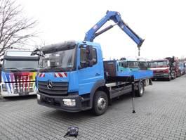 crane truck Mercedes-Benz ATEGO 1224 HMF 875 K2 Kran 2019