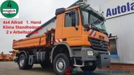 tipper truck > 7.5 t Mercedes-Benz Actros 1832 4x4 Meiller 3S. 2xArbeitsplatte 1.Hd 2006