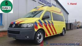 ambulance lcv Volkswagen T5 2.0 TDI Ambulance Mobile RTW Scheckheft 1.Hd 2010