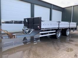 flatbed semi trailer Jumbo TM180 5 1990