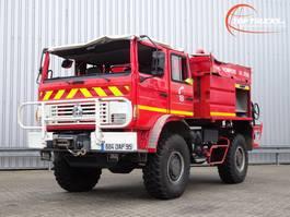 fire truck Renault M 210 Midliner 4x4 fire brigade - brandweer - watertank 3500 - Ongeval, ... 2001