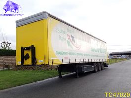 sliding curtain semi trailer Kögel Curtainsides 2016