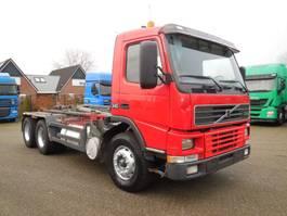 container truck Volvo FM12.340 6x2 Naafreductie, Liftas, Haakarm 2000