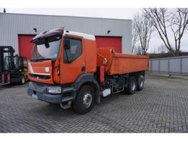 tipper truck > 7.5 t Renault Kerax 370 / 6X4 / TIPPER / FULL-STEEL / MANUAL / 2002 2002