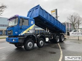 tipper truck > 7.5 t MAN 35.414 Full steel - Manual - 6 Cylinder - Mech pump 1999