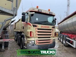 container truck Scania R500 3 way cable tipper 2007
