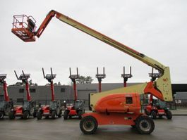 articulated boom lift wheeled JLG 800 AJ (510) 2007