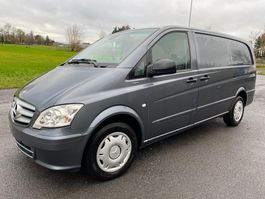 closed lcv Mercedes-Benz VITO 122 CDI - V6 MOTOR - 2011 EURO 5 - AUTOMATIC + TYRES 2011