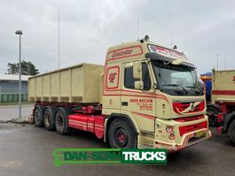 container truck Volvo FMX500 8x4*4 3 way cable tipper 2013