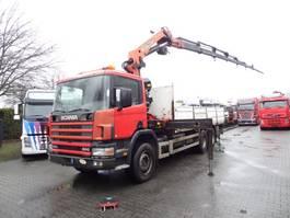 crane truck Scania P94 260 6X4 Palfinger 27000 2002