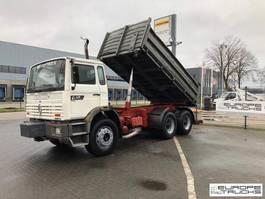 tipper truck > 7.5 t Renault Manager 220 Deux ponts - Full steel - Manual - Mech pump 1995