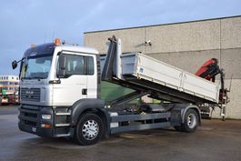 crane truck MAN TGA 18.350 4X2 CONTAINER SYSTEEM- CONTAINER SISTEEM- CONTAINER HAAKSYSTEEM- SYSTEME CONTENEUR 2006