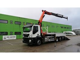 crane truck Iveco Stralis 260 260S31 2015