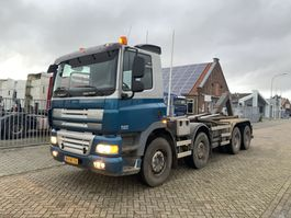 container truck DAF CF 85.410 FAD CF 85.410 8x4 Steel Springs Manual Gearbox 2008