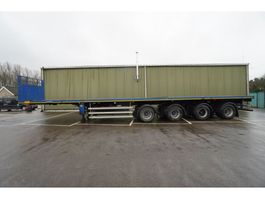 flatbed semi trailer Nooteboom 4 AXLE FLATBED EXTENDABLE 34,70M 1995