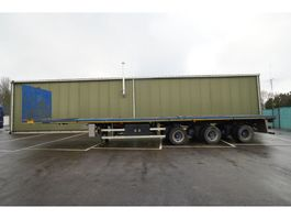 flatbed semi trailer Nooteboom 3 AXLE FLATBED 2X EXTENDABLE 28,65M 2000