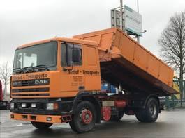 tipper truck > 7.5 t DAF AE 95 360 ATI Kipper 3 Seiten Kempf-Kipper, Bordmatik 1991
