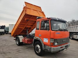 tipper truck > 7.5 t Iveco 135-17 R Meiller 3S kipper / Tri-Benne 1990