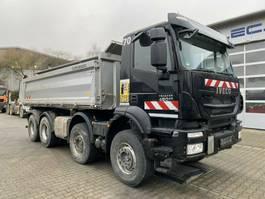 tipper truck > 7.5 t Iveco TRAKKER 450 8x4 Euro 6 Dreiseitenkipper Meiller 2017