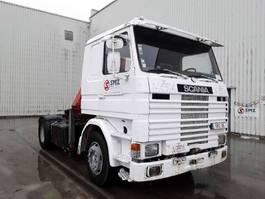 other-tractorheads Scania 113 360 +crane grue 1990