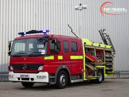 fire truck Mercedes-Benz Atego 1324 RHD - Crewcab, Doppelcabine - 1.700 ltr watertank - Feuerwehr, Fire brig... 2007