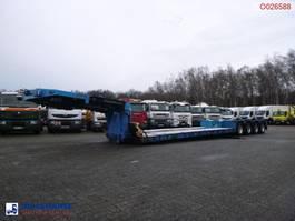 низкорамный полуприцеп Goldhofer 4-axle lowbed trailer 94T//STZ-VHH-47/80A//4 steering axles 2004