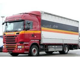 tilt truck Scania R450 Euro 6 Pritsche Plane Edscha LBW 2000kg 2014
