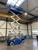 Scherenbühne auf Rädern Holland Lift schaarhoogwerker, Monostar X-105EL16, 360 uren, werkhoogte 12.5 meter, uitschuifbaar werkplatform, 2WS 2003