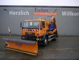 tipper truck > 7.5 t MAN LE 18.280 4x4, Komm. Schild 2005