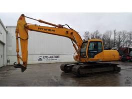 crawler excavator Hyundai Robex 210LC-3