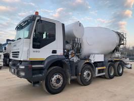 concrete mixer truck Iveco Trakker 410T38 8x4 CIFA 13mc 2006