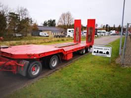 Tieflader Auflieger Kel-Berg D40S4 30/40 ton maskin/blokvogns hænger 2003