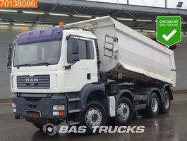 tipper truck > 7.5 t MAN TGA 41.480 8X4 Manual Big-Axle Steelsuspension Euro 2 2005