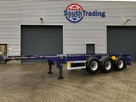 container chassis semi trailer Van Hool 20'-30' chassis 2015