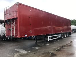 walking floor semi trailer Knapen Trailers KOWF390-A - DAMAGED