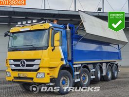 tipper truck > 7.5 t Mercedes-Benz Actros 4144 K 10X4 Big-Axle Lift+Lenkachse Steelsuspension Euro 5 2009