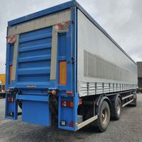 sliding curtain semi trailer Lambrecht huiftrailer 1994