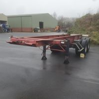 container chassis semi trailer Trailor containerchassis 1984