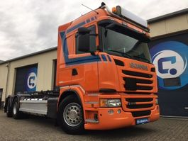 container truck Scania G410 LB6x2*4MNA Euro 6 + Transcom ketting containersysteem - RETARDER 2014
