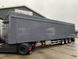 walking floor semi trailer Kraker CF 200 92m3 10MM Cargo Floor BPW New paint/Tarpaulin, TOP 2009