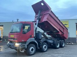 tipper truck > 7.5 t Renault Kerax 420HP Kipper/Dumper 8x4 Full Steel Good Condition 2002