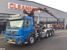 container truck Volvo FMX 460 8x4 Penz 16 ton/meter Z-kraan 2011