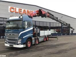 crane truck Volvo FH 16.650 8x4 HMF 85 ton/meter laadkraan 2017