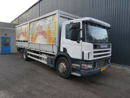 tilt truck Scania P 310 MANUEL/MANUAL 1999