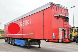 walking floor semi trailer Schmitz Cargobull Schubboden Faltwand Seitentüren Liftachse