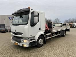 drop side truck Renault MIDLUM 190-12 L + FASSI 65 2008